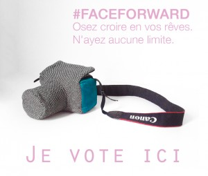 Margaux Faes Face for ward projet mode