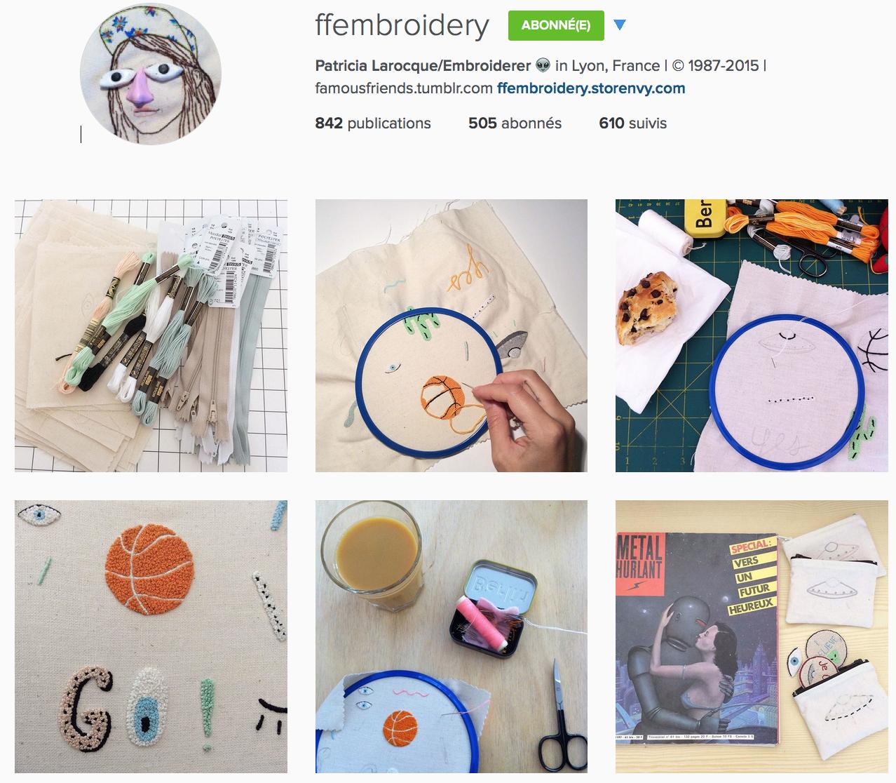 compte instagram de ffembroidery