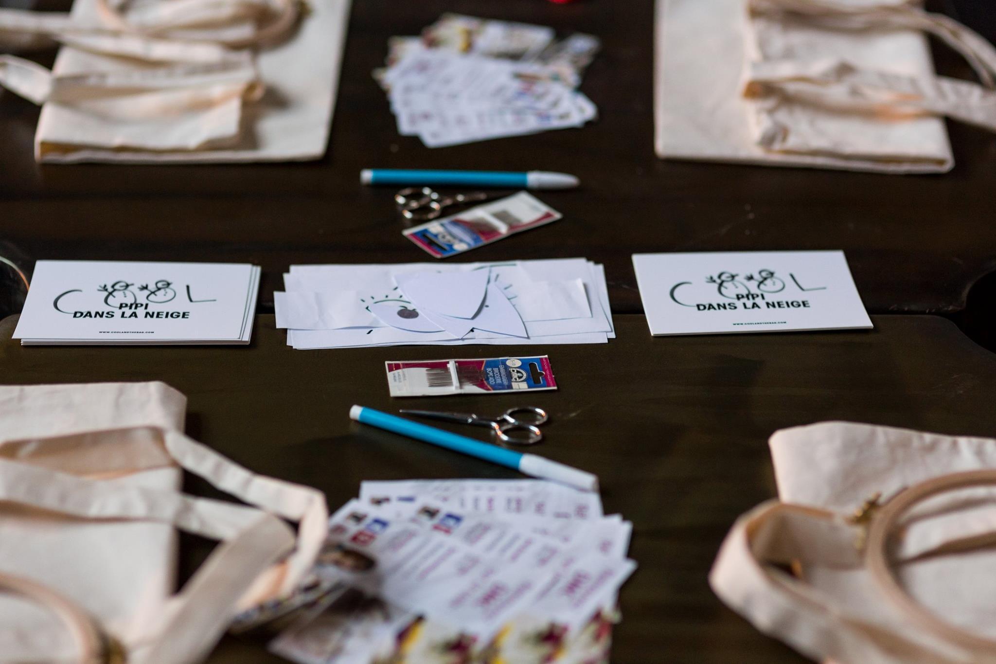atelier broderie avec DMC par Couture débutant
