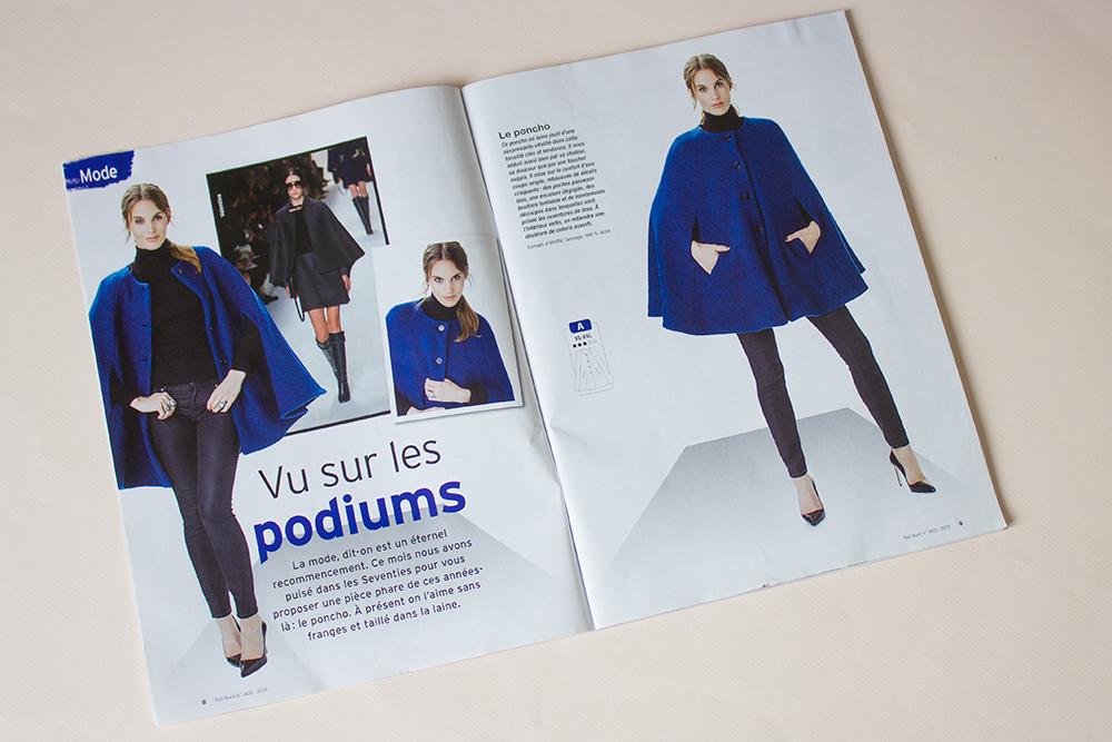 modèle cape magazine fait main octobre 2015