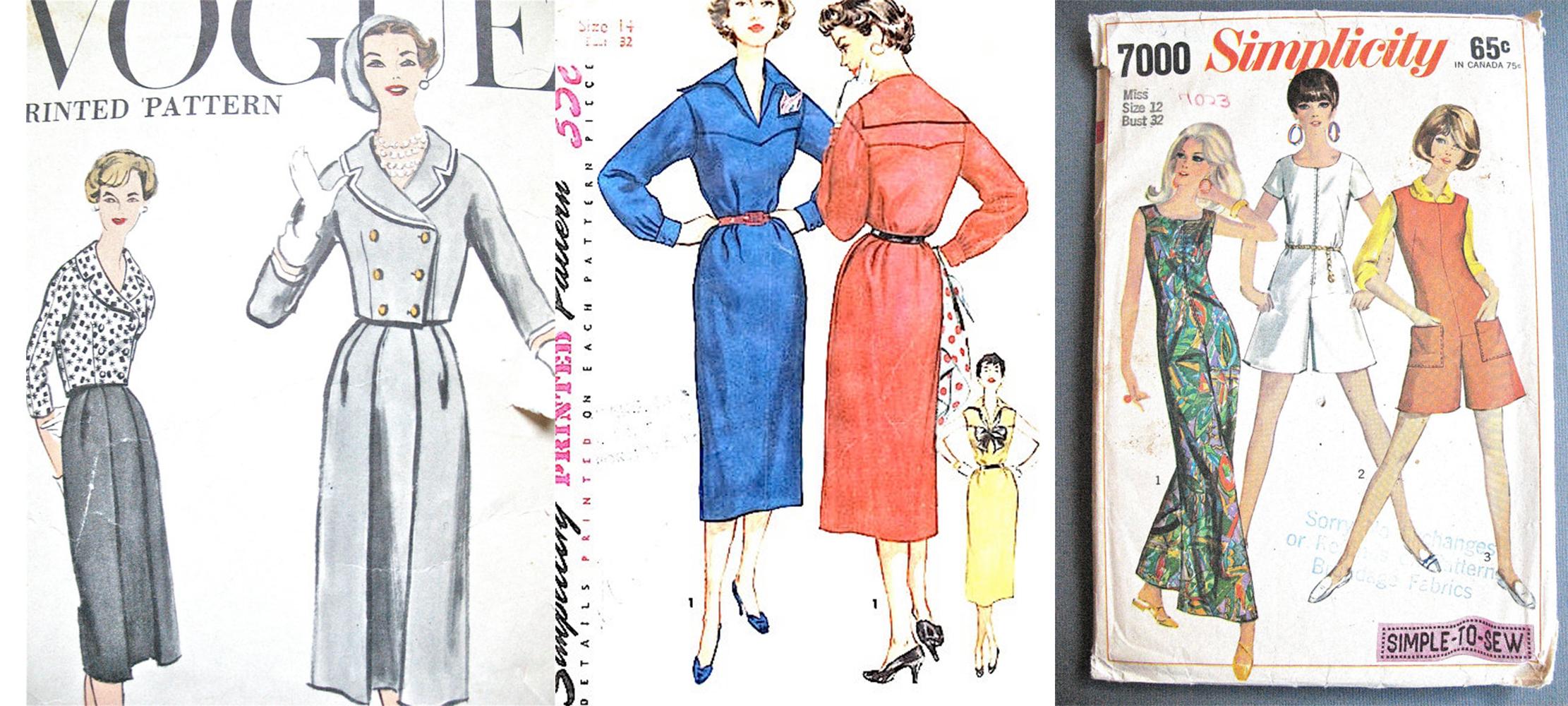 Boutique patrons couture vintage Fancywork