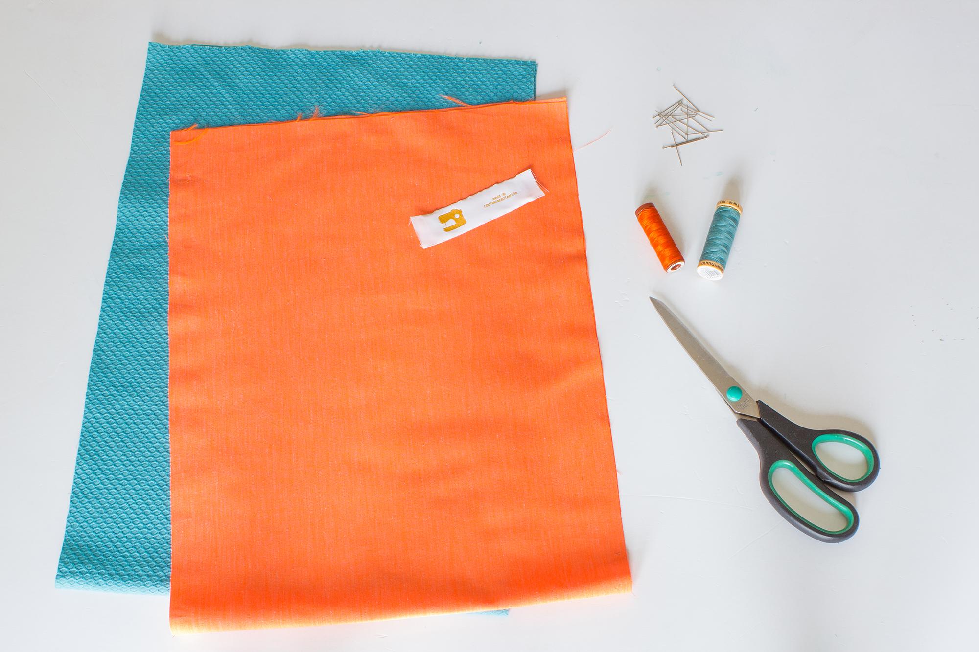 matériel nécéssaire pour réaliser un tote bag en couture