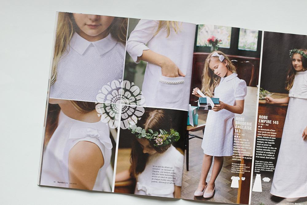patron de couture pour enfant spécial mariage