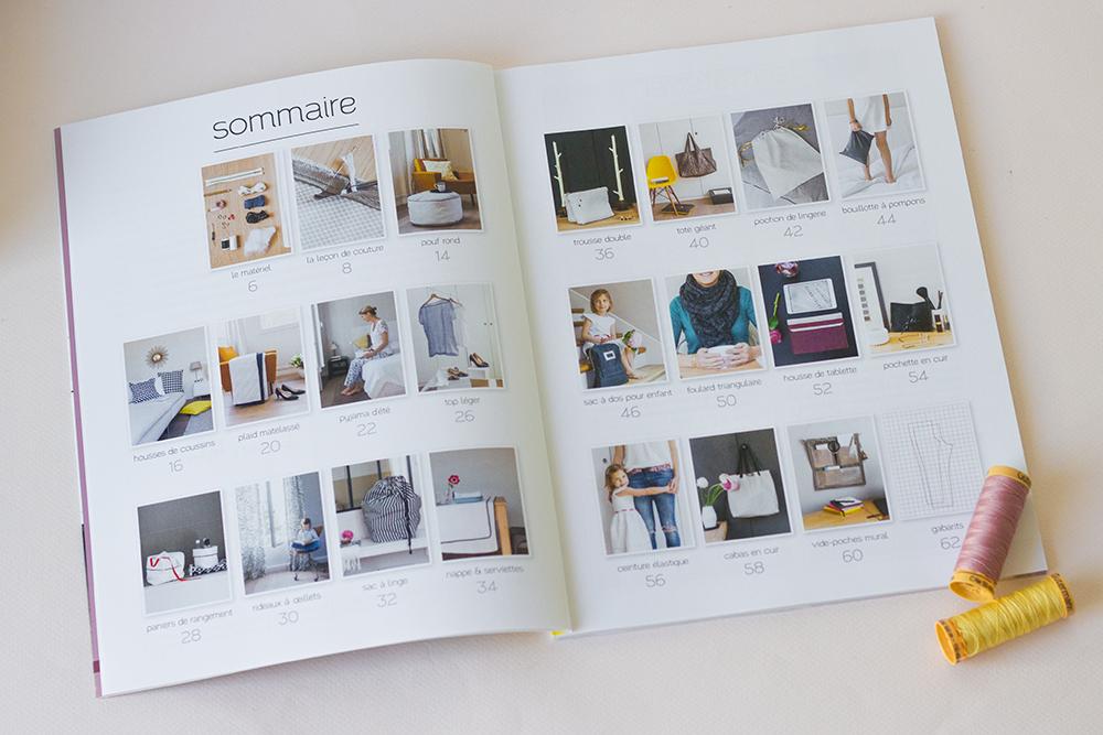 Débuter la couture avec le livre Couture Premières Lecons