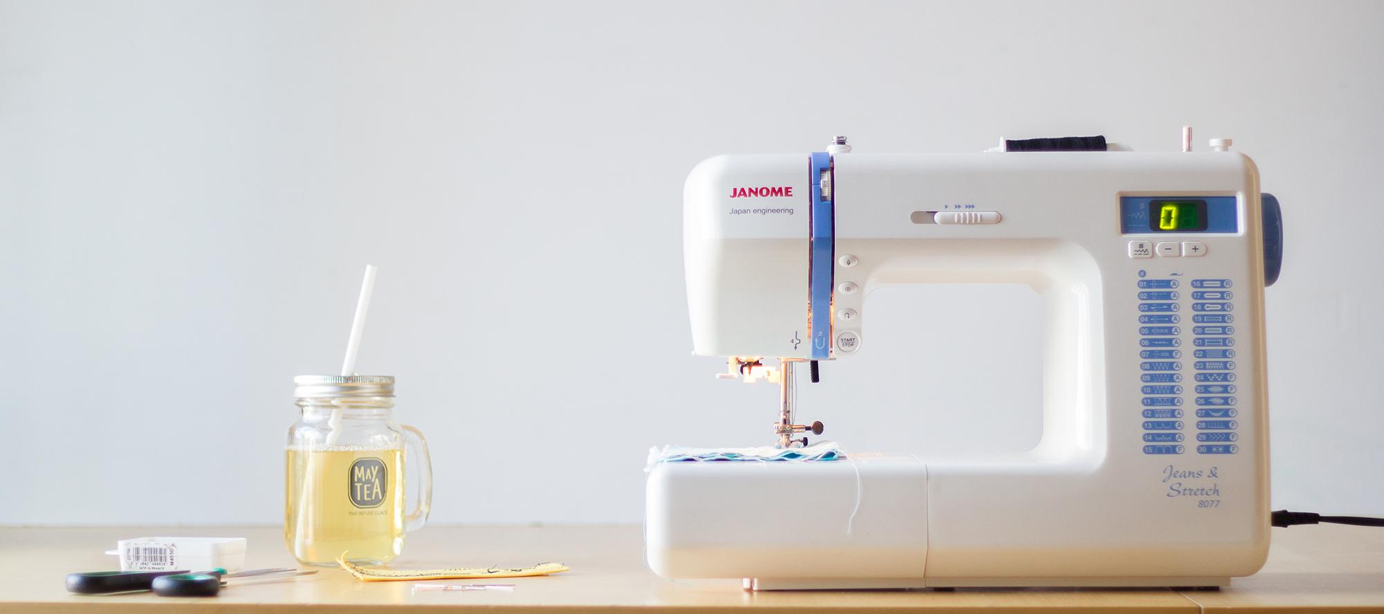 Test machine à coudre Jeans & Stretch 8077 de janome - avis