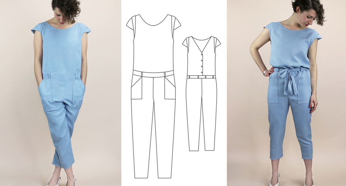 combinaison RDC patrons de couture