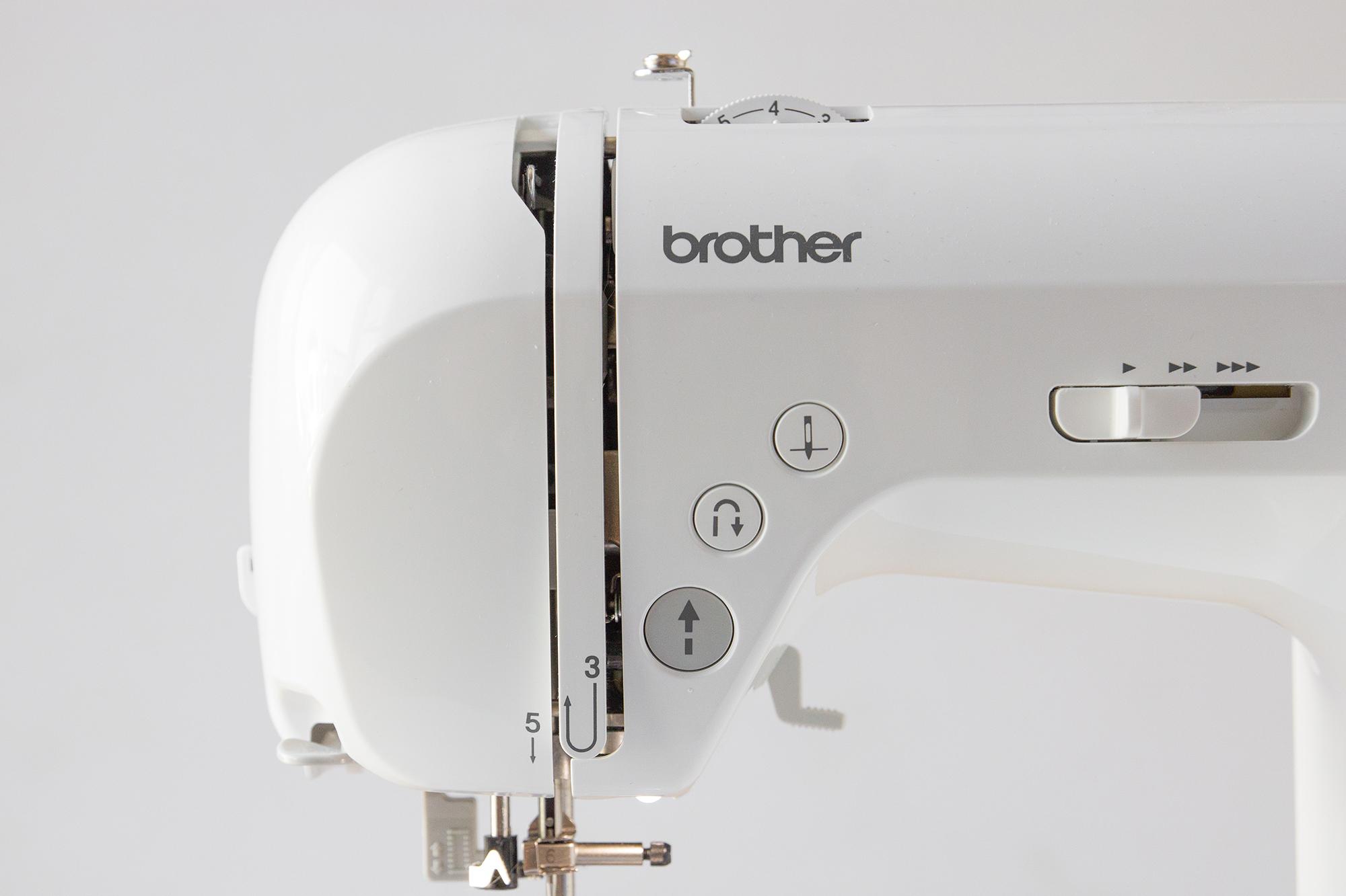 test de la machine à coudre Innovis 15 de chez Brother