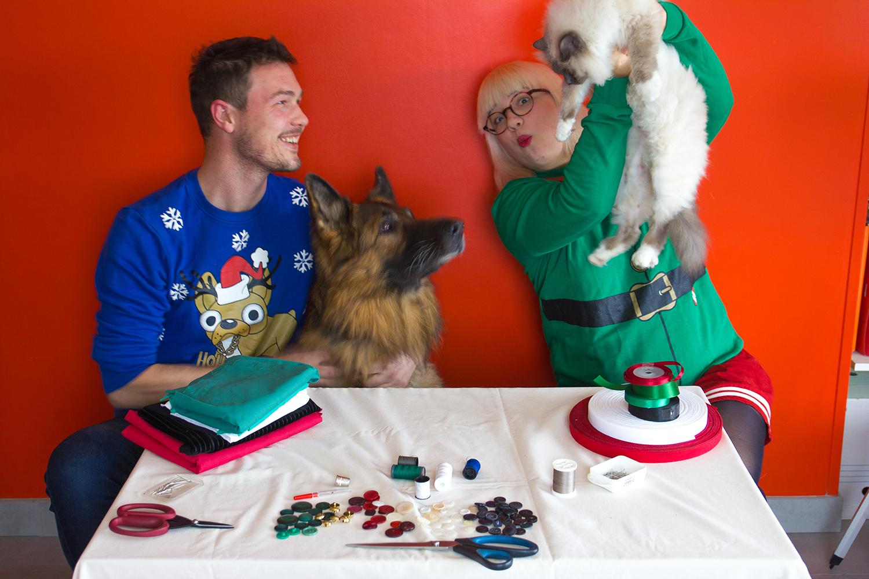 Vidéo défi couture de Noël
