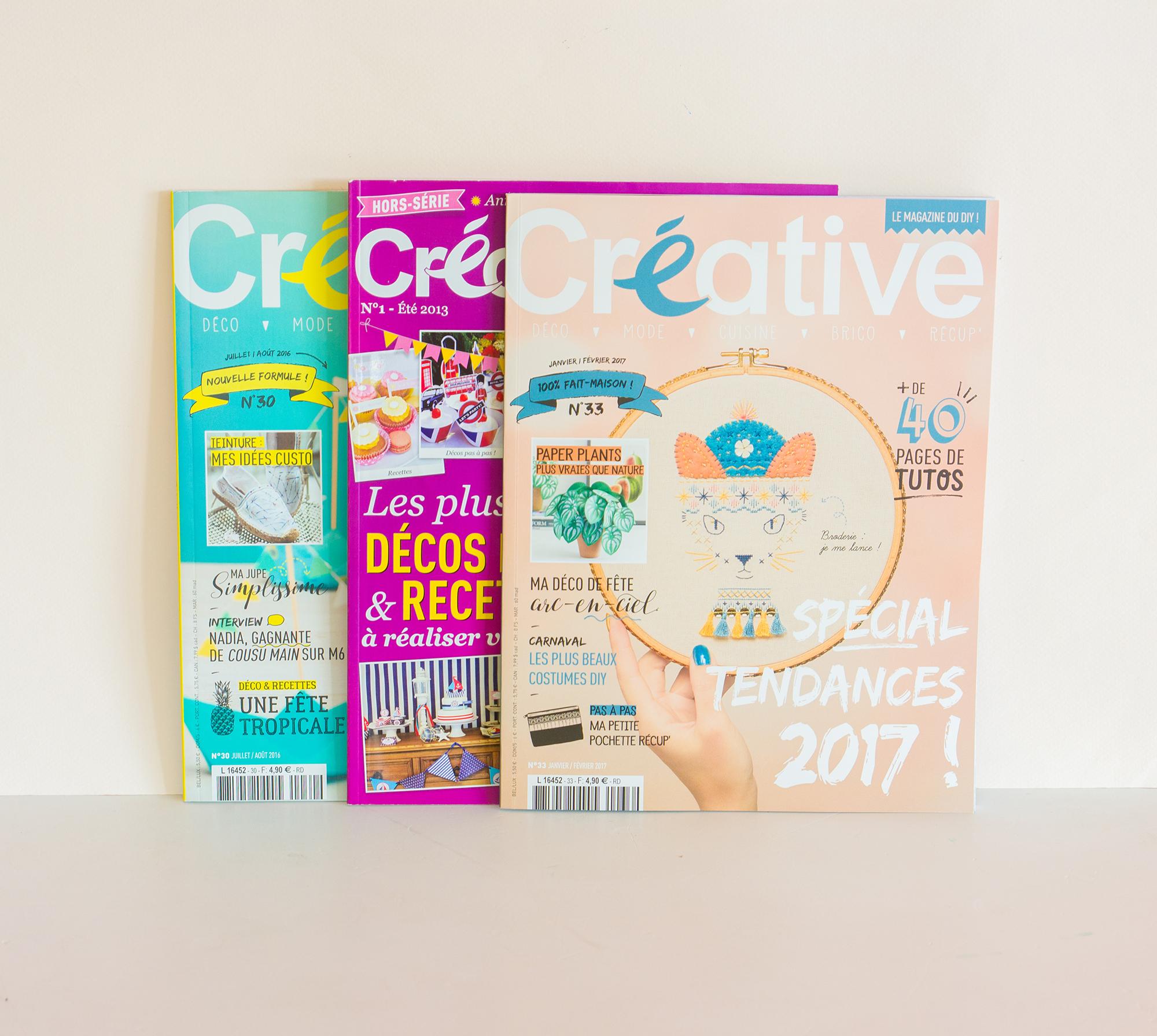 concours à gagner des magazines créative