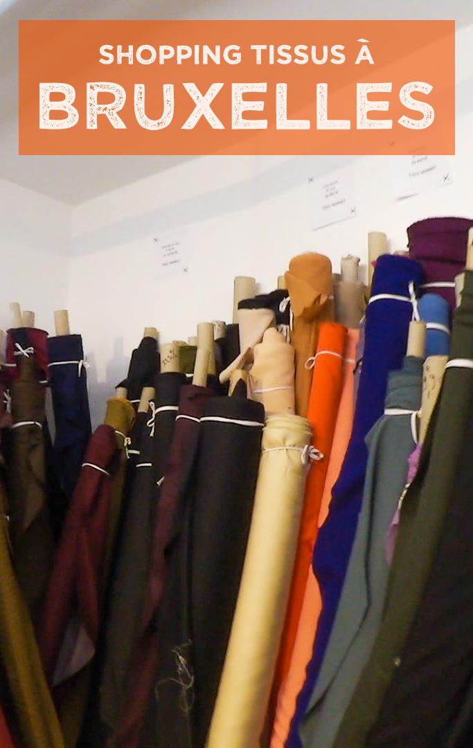 Vlog couture ou acheter du tissu à Bruxelles