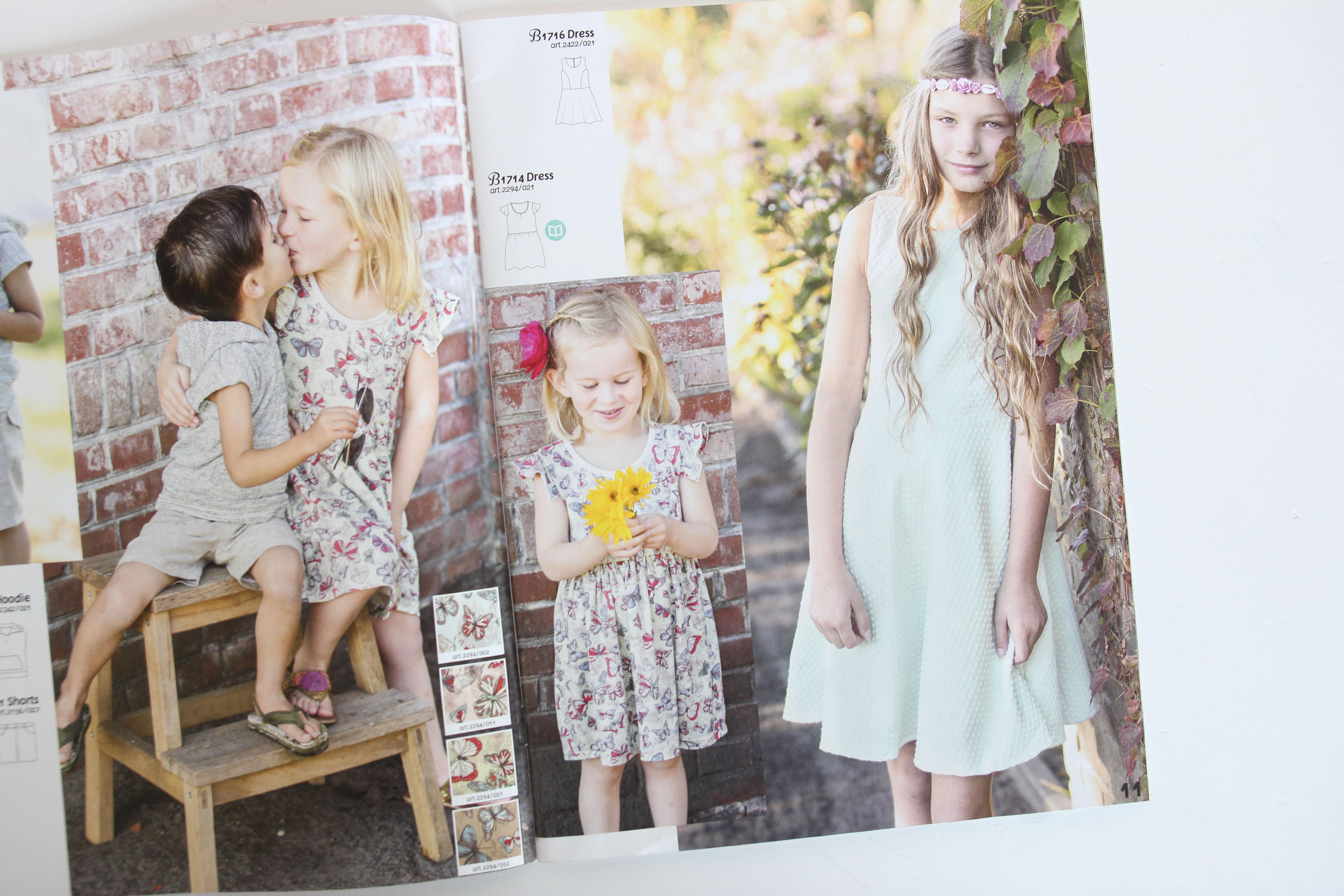 Be trendy, le magazine de patrons de couture pour enfants