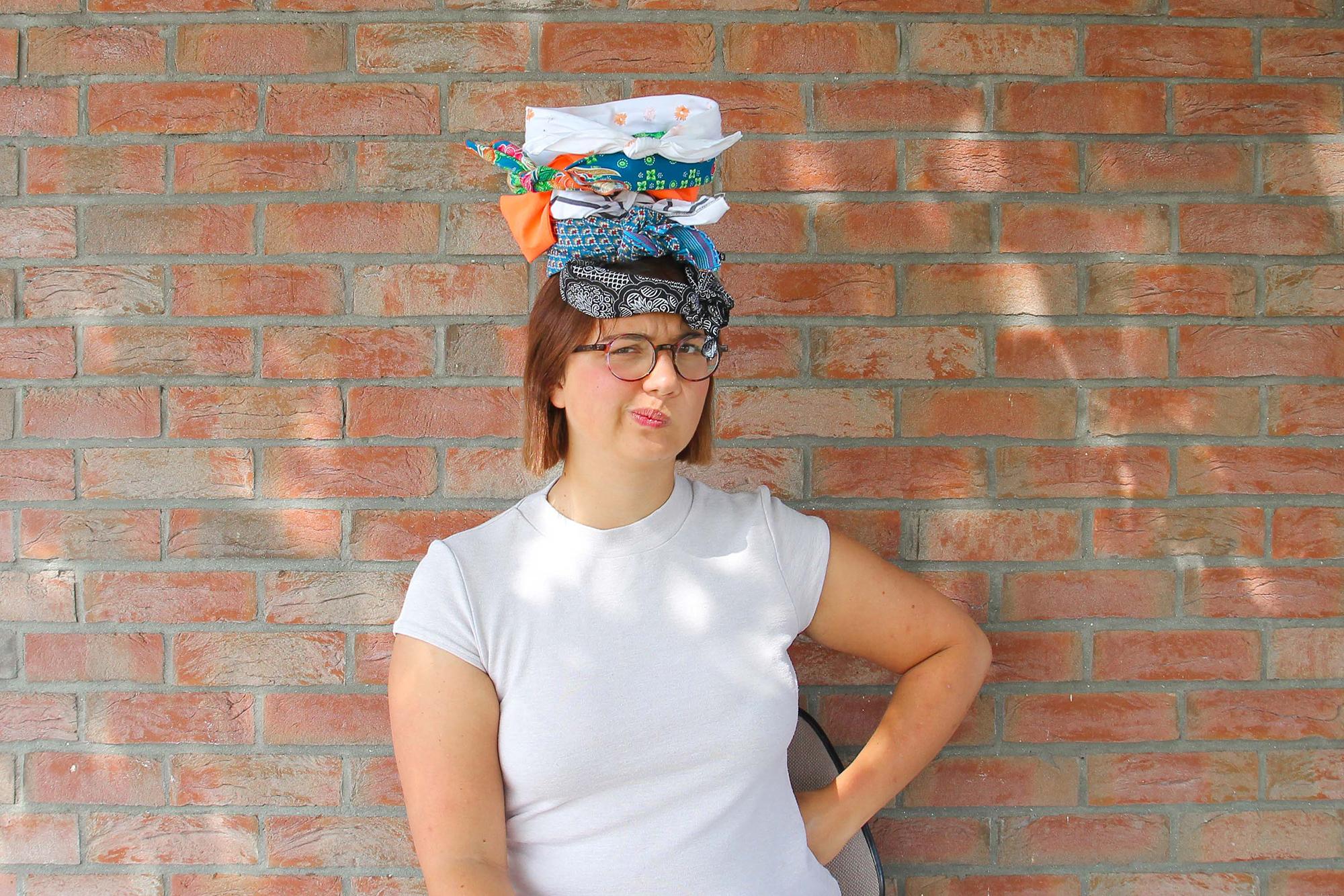 Tuto 3 facon de coudre un headband - bandana - bandeau de cheveux