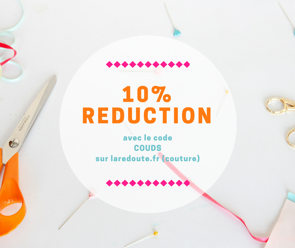 10% sur La Redoute