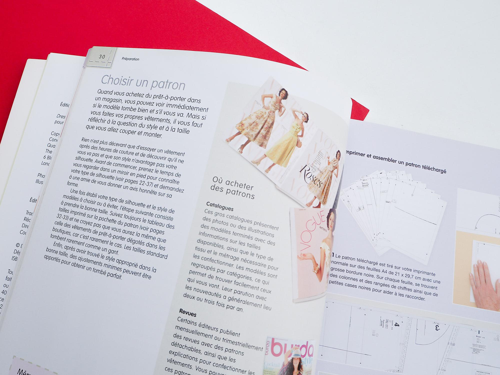 Livre couture : atelier couture spécial rondes