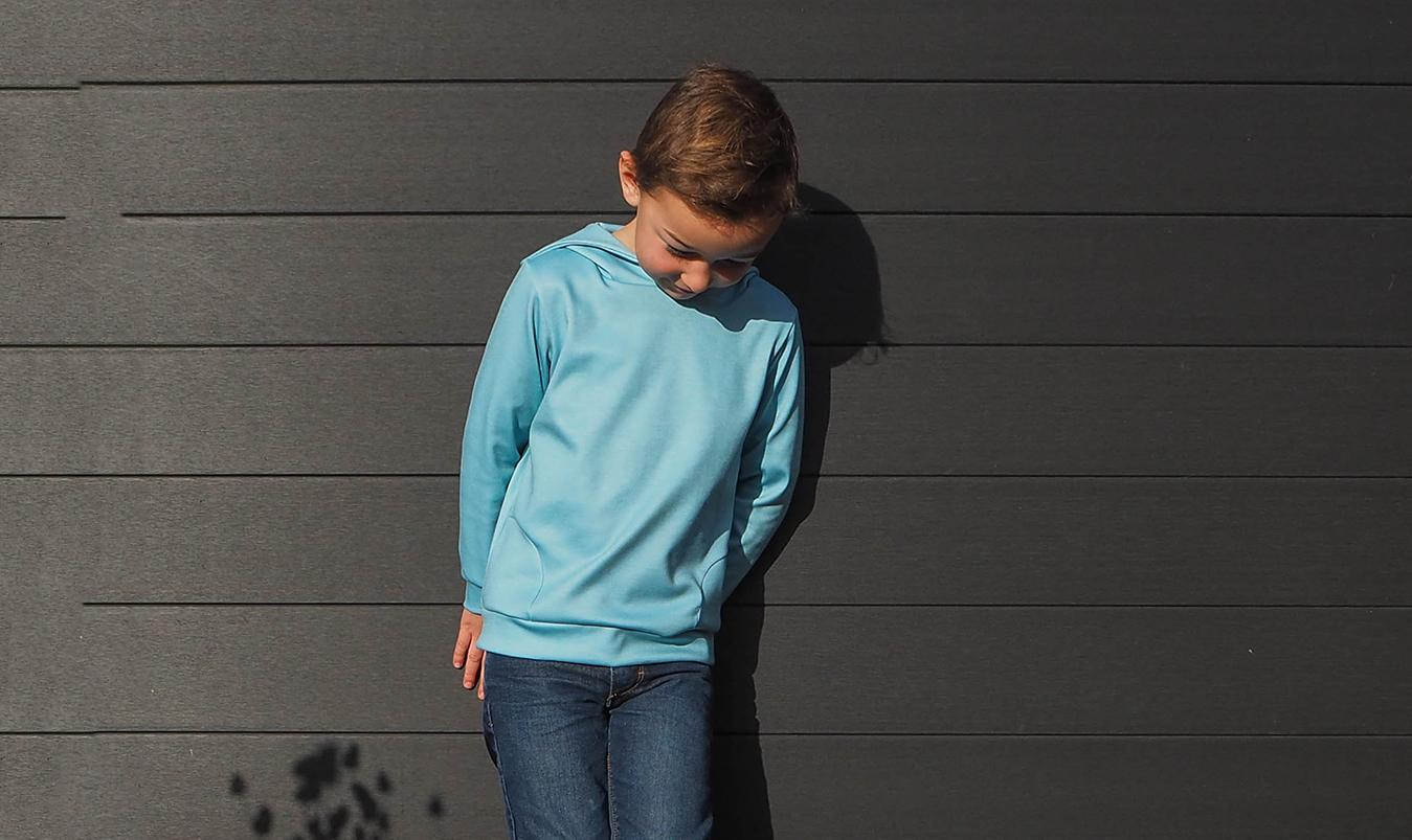 coudre un sweat enfant facilement