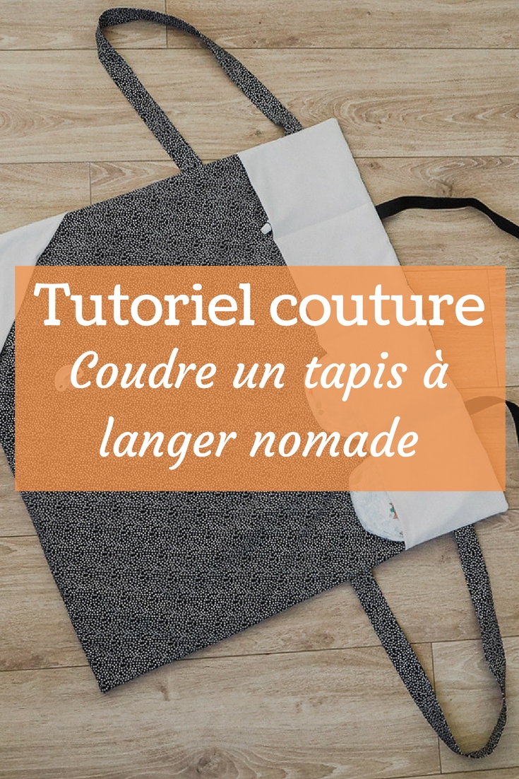 Tuto Coudre Un Tapis A Langer Nomade Couture Debutant