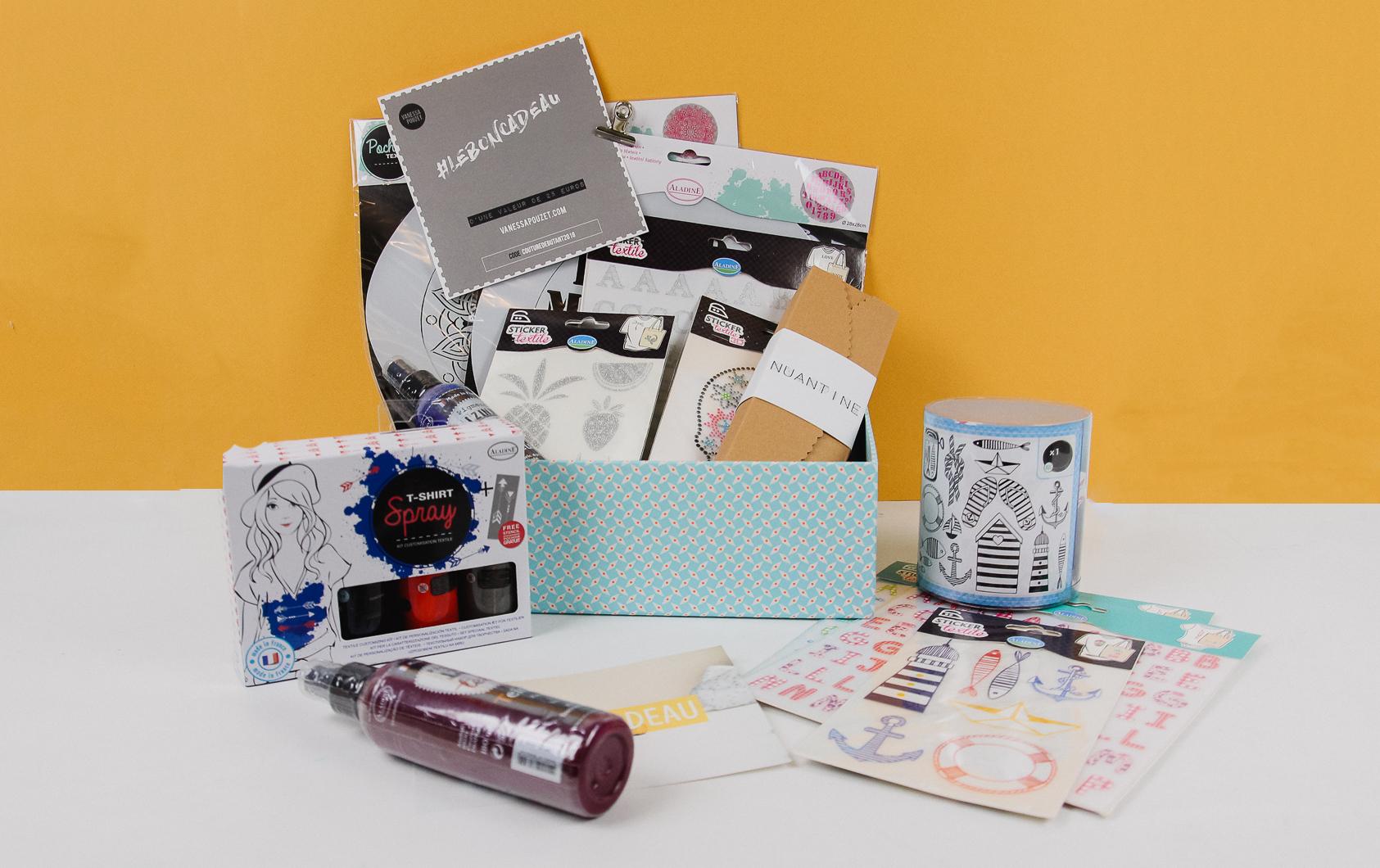 Concours anniversaire box couture couture débutant
