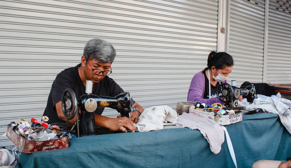 couture à Bangkok thailande