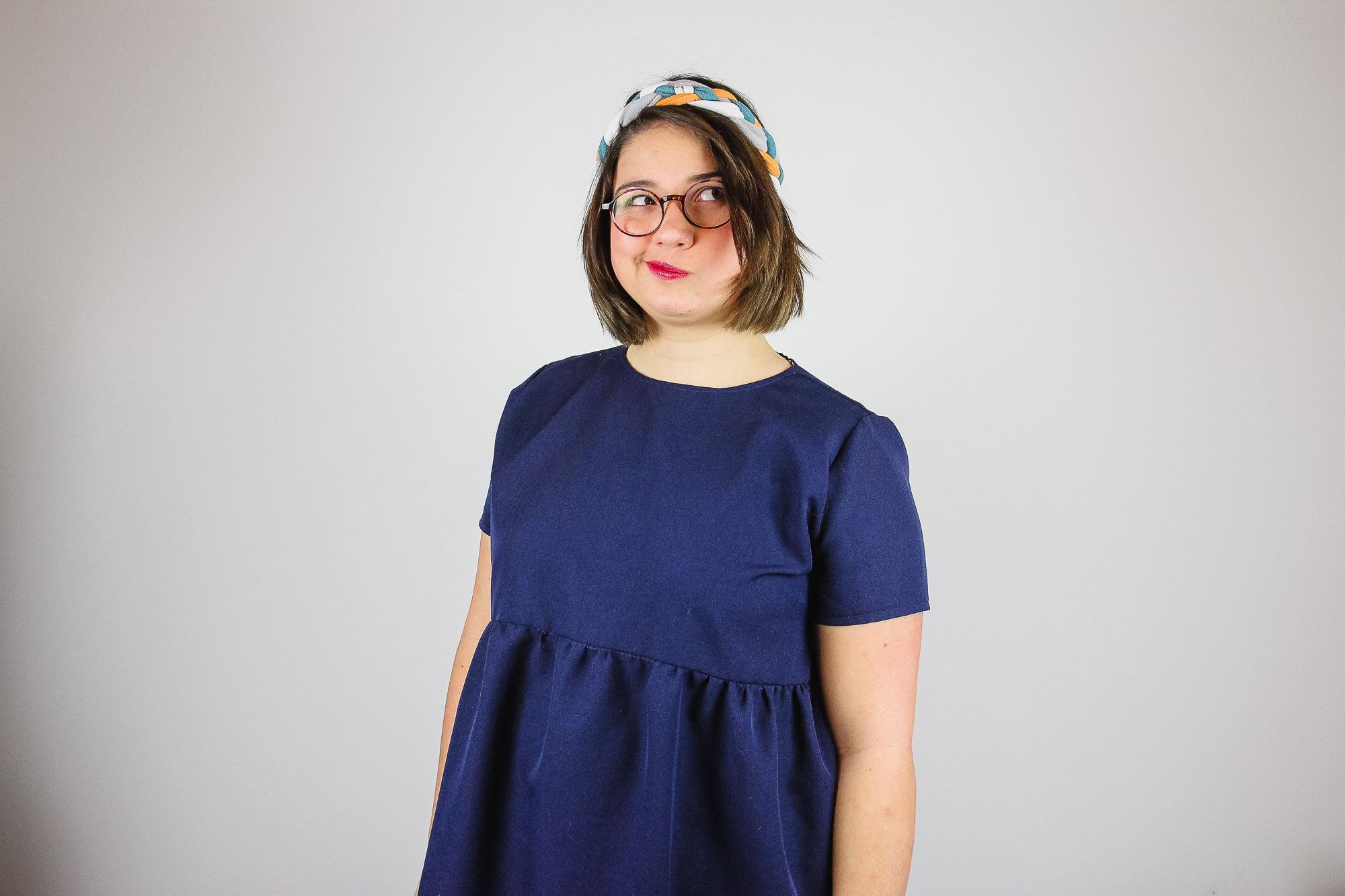 Tuto couture headband tresse facile à coudre