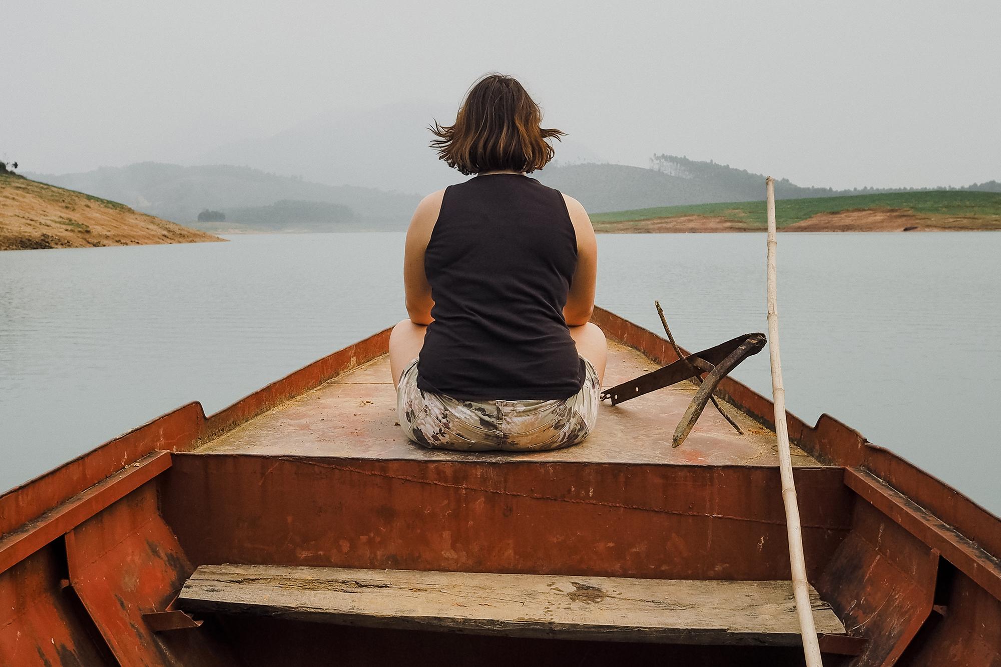 Lac de Thac Ba - Nord Vietnam