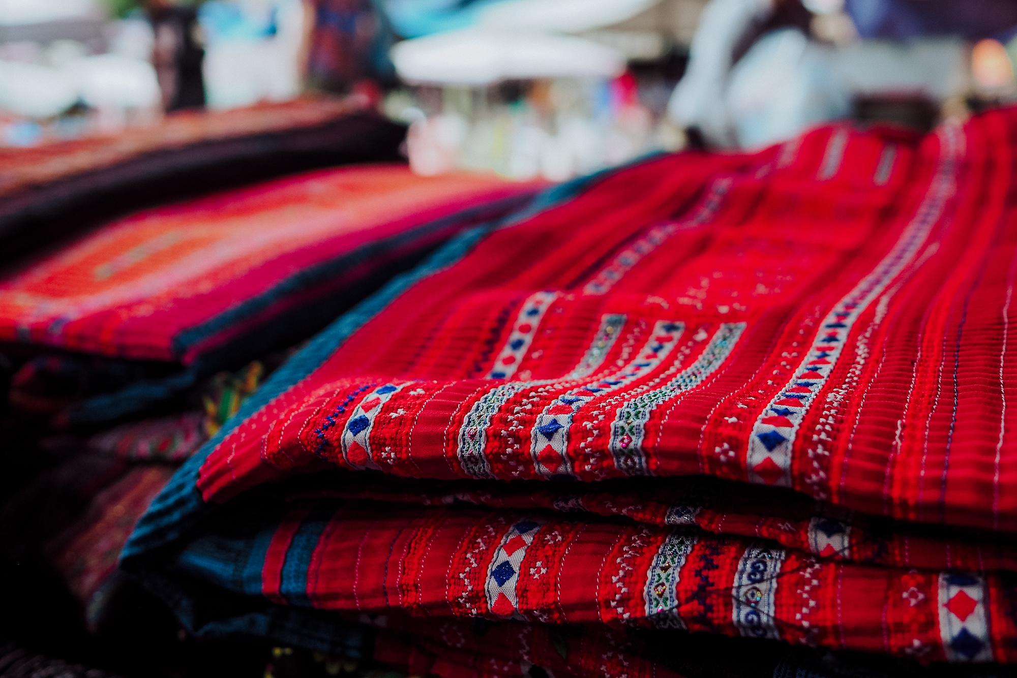 Tissu traditionnel nord du Vietnam