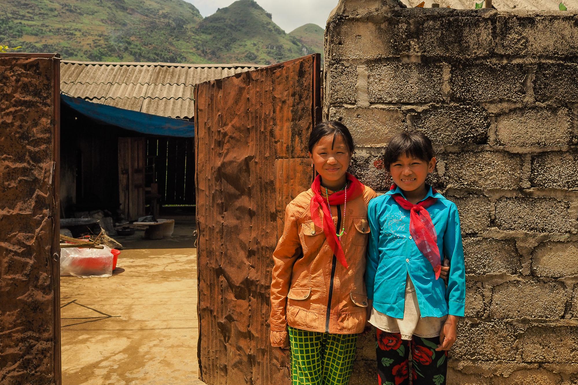 Visite d'un village de tisserand au vietnam