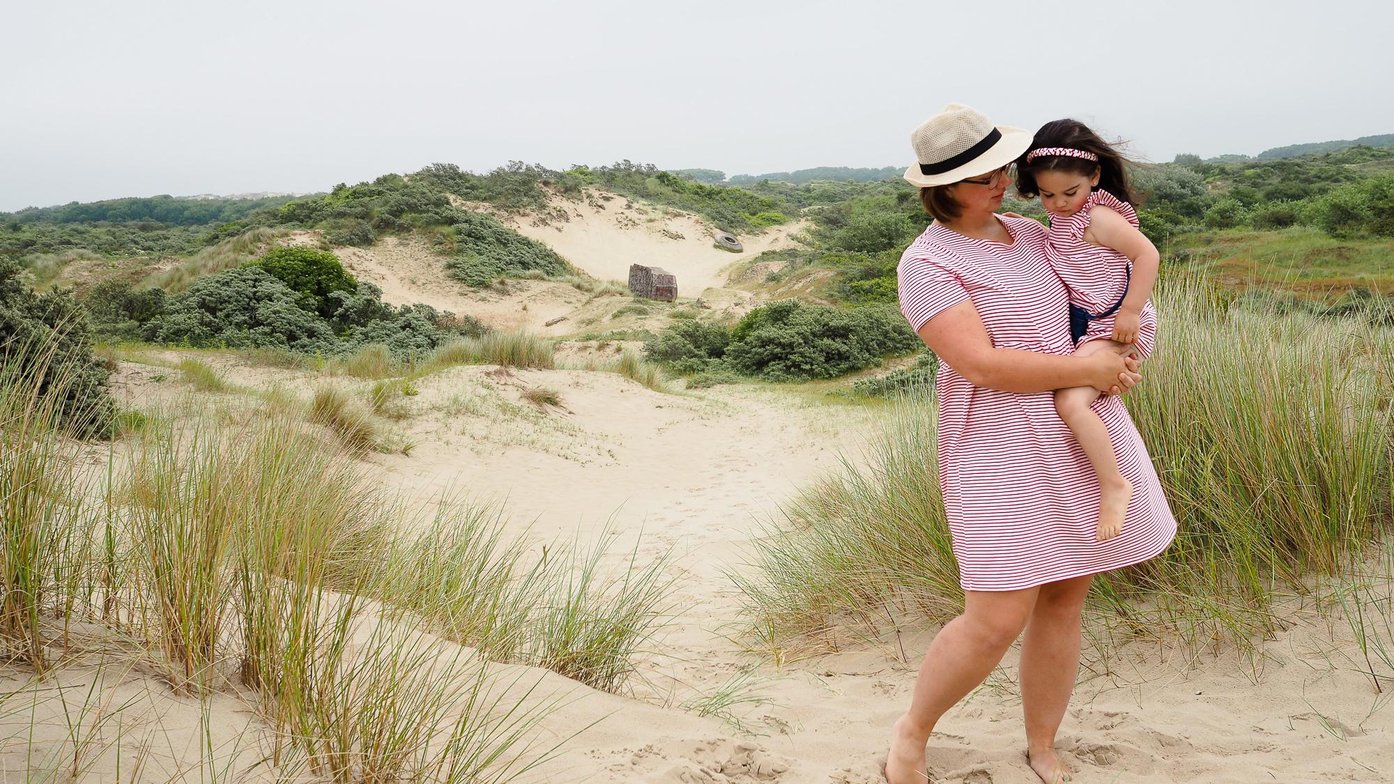 d8f7041adba3 Tuto robe pour femme et enfant - gratuit - Couture Débutant