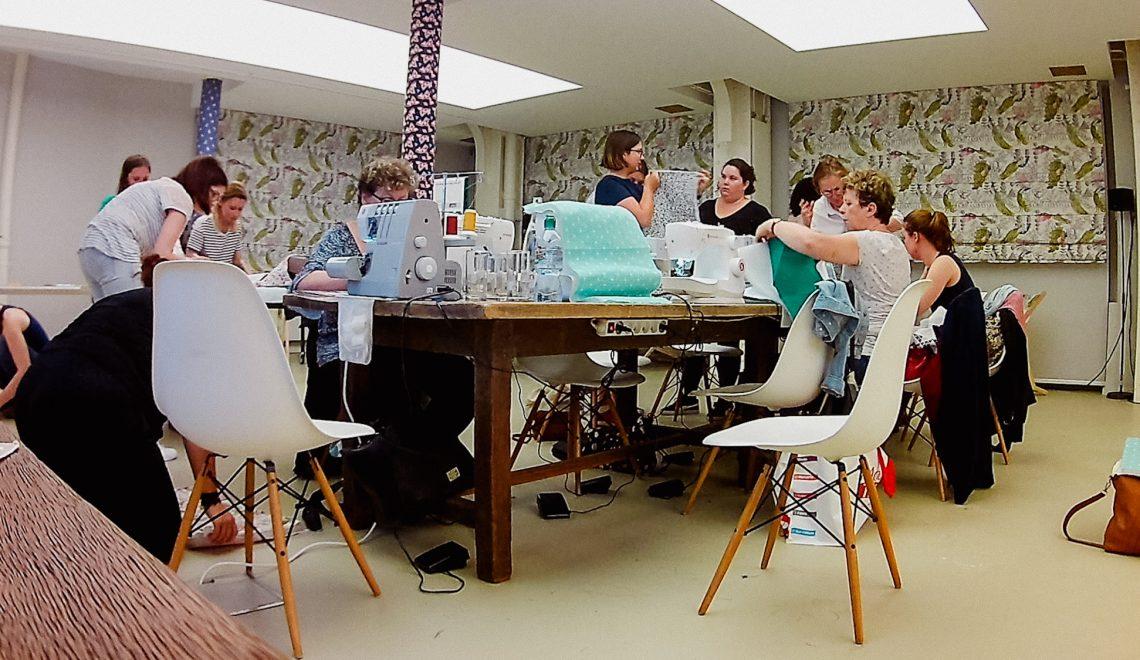 Préparer un atelier de couture pour mondial tissus couture débutant