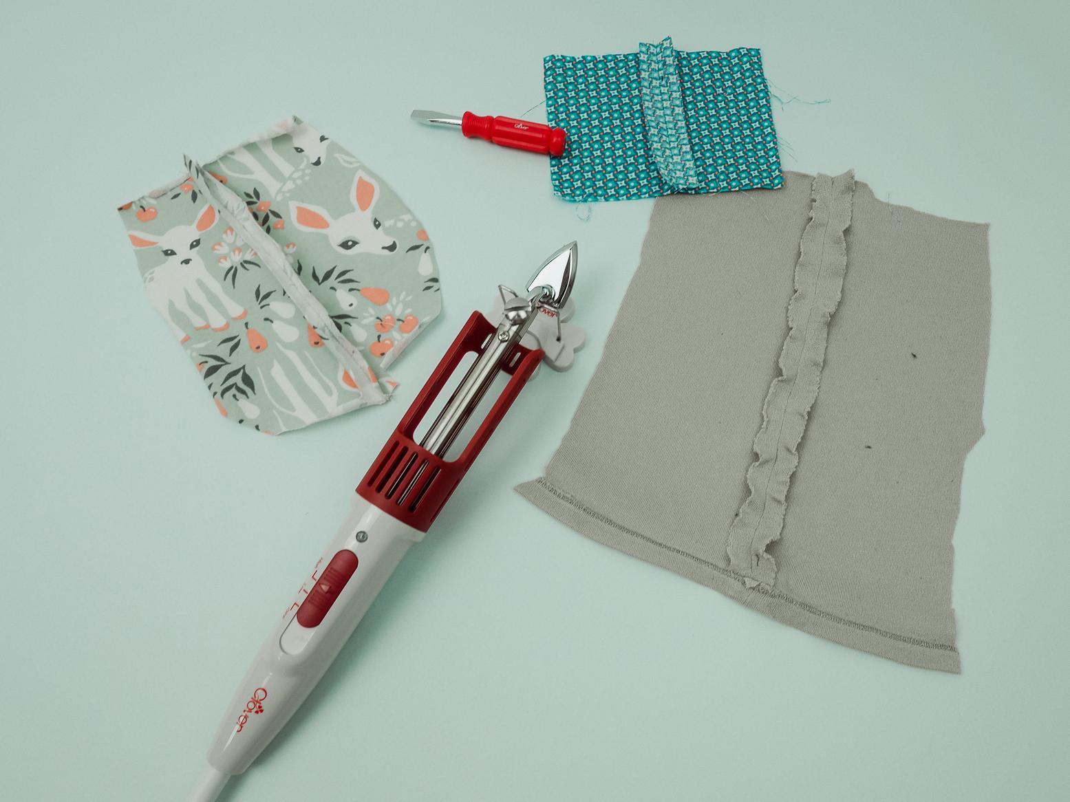 test du matériel de couture clover par couture debutant