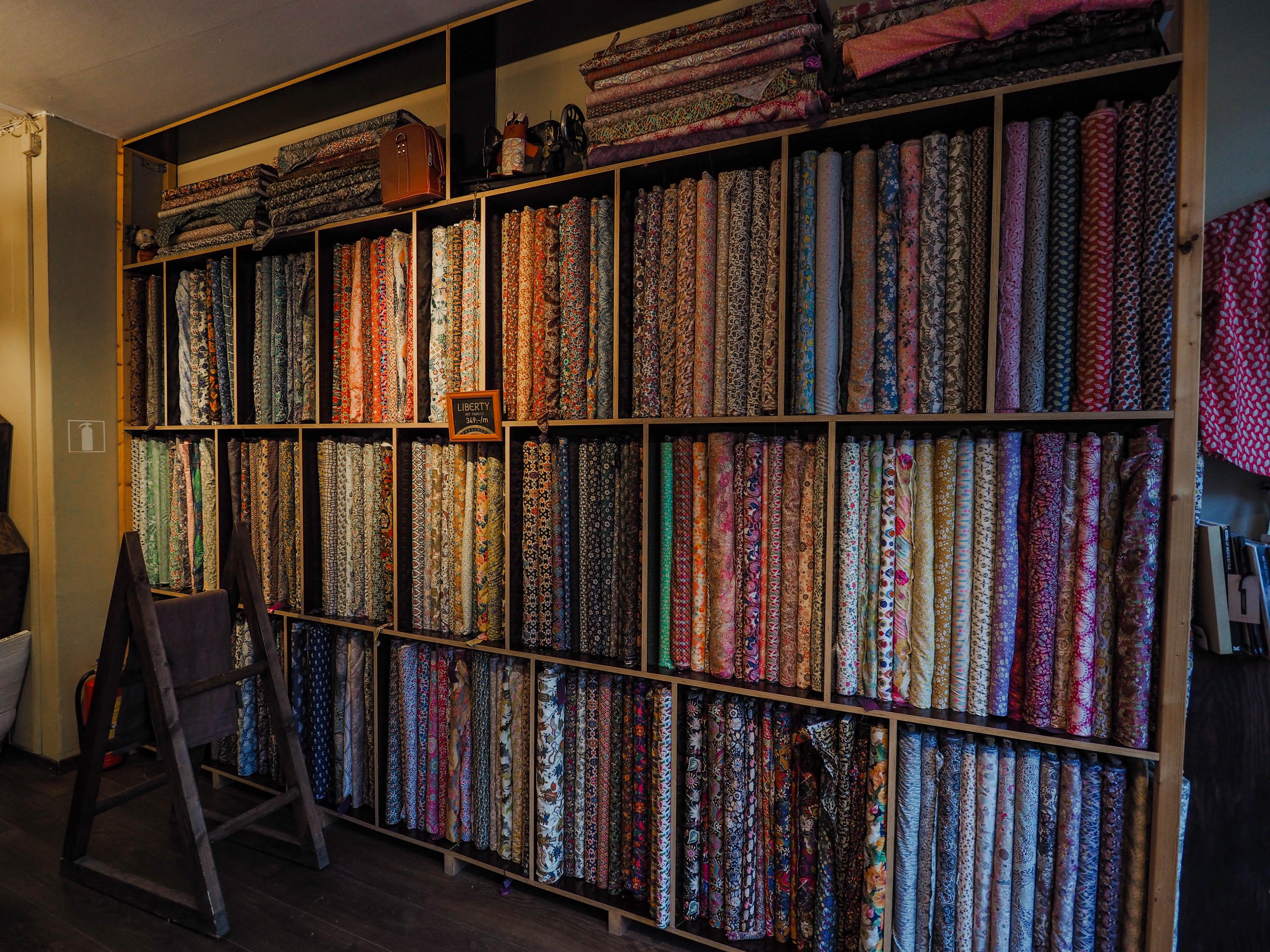 Adresses pour acheter du tissu et mercerie à Stockholm city guide couture