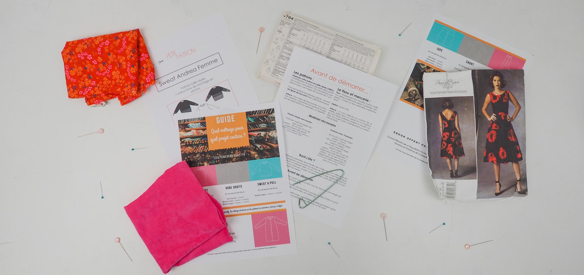 Comment Faire Un Tableau Avec Du Tissu comment connaitre le métrage de tissu nécessaire pour un