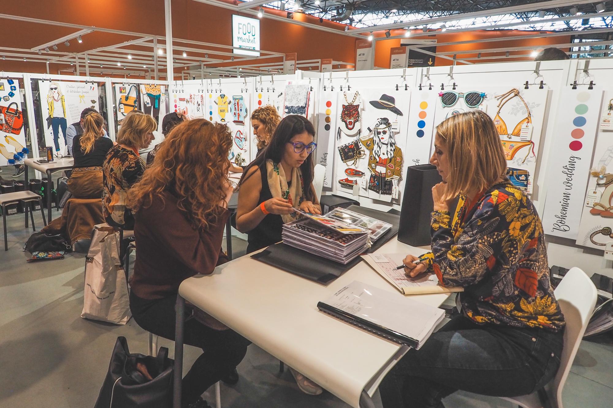Qu'est-ce que le salon du tissu Première vision - métier de styliste