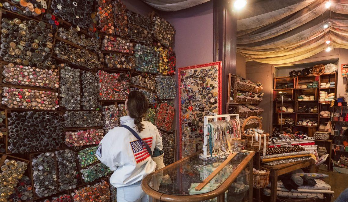 Fanfreluche boutique mercerie à Lille - adresses tissu et mercerie