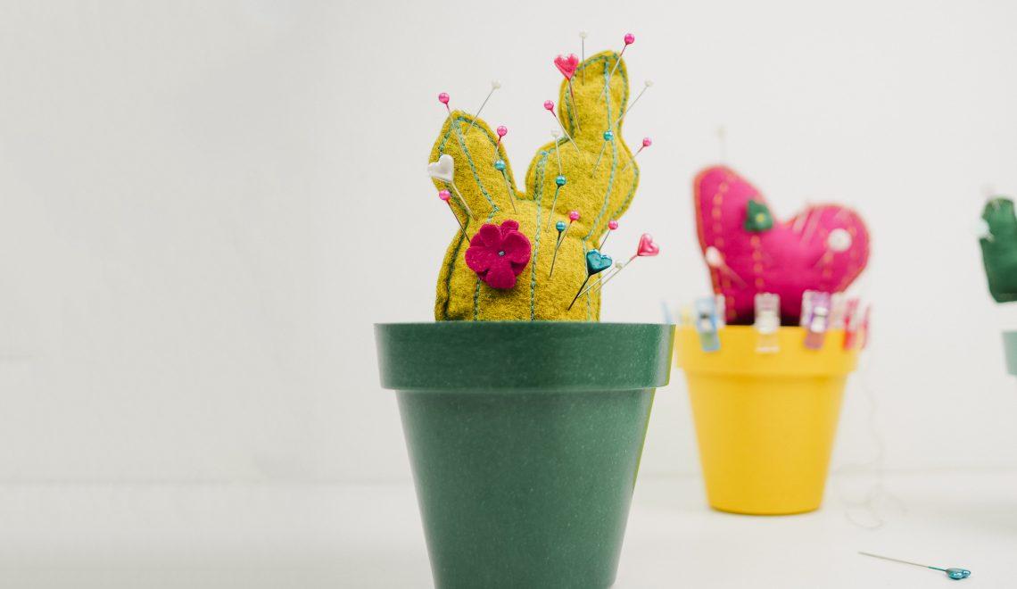 DIY couture : pique épingle cactus facile à coudre couture débutant