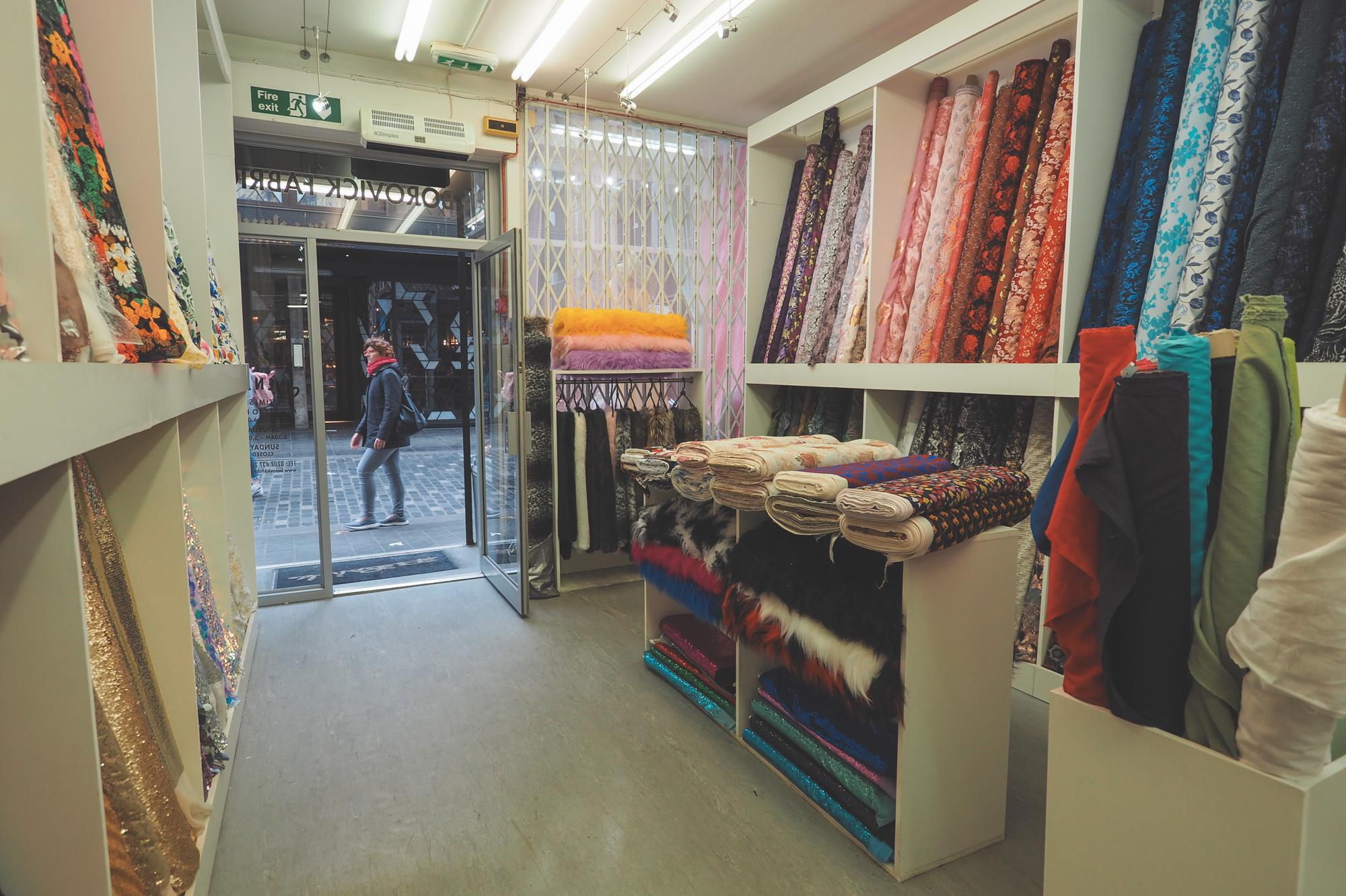 14 adresses pour acheter du tissus à Londres