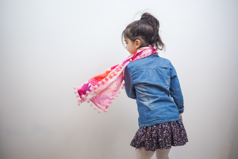 tuto : coudre un foulard