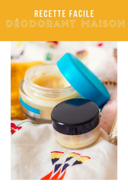 Recette fabriquer son déodorant maison naturel