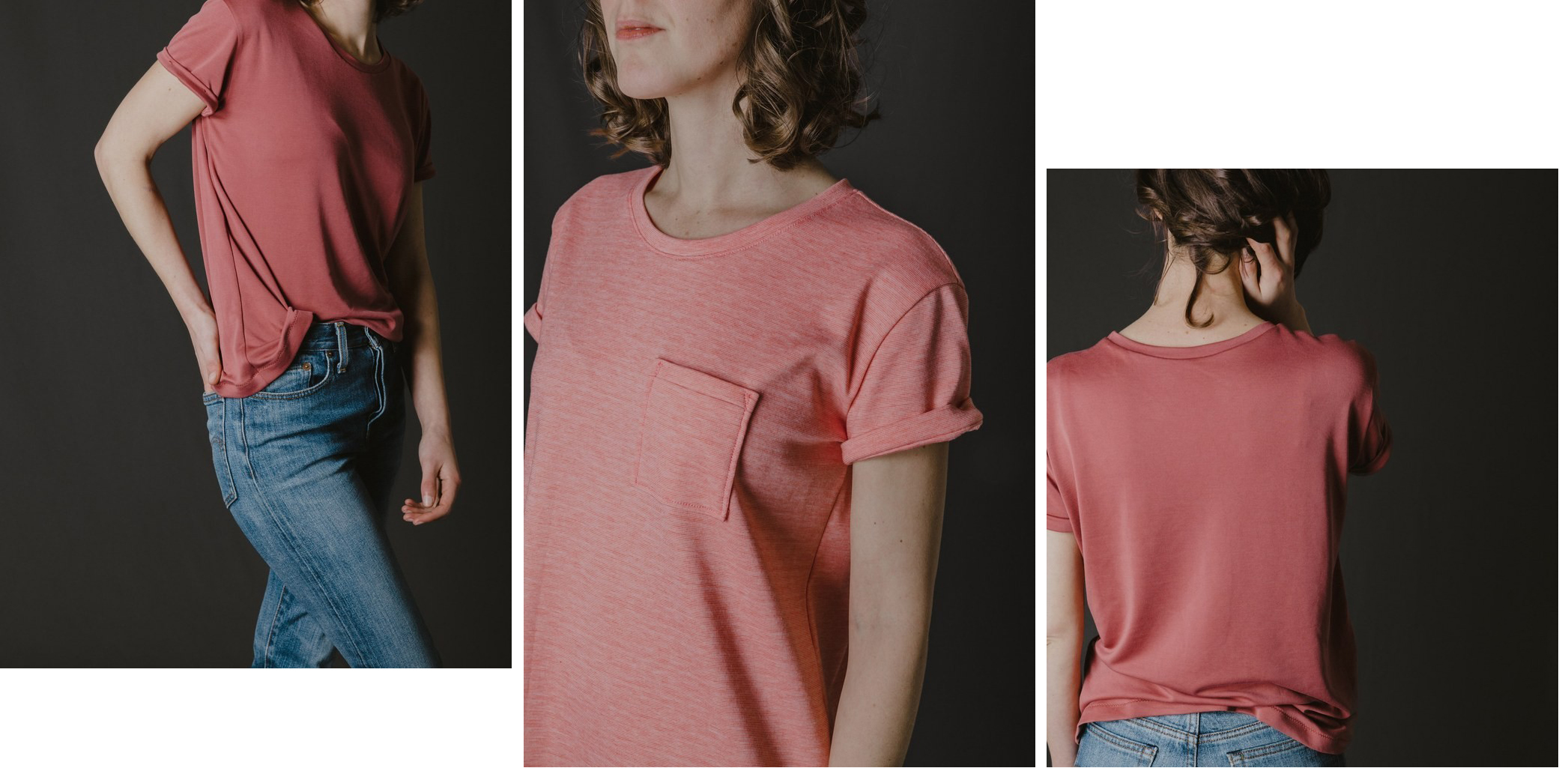 Patron couture t-shirt jeanne ready to sew