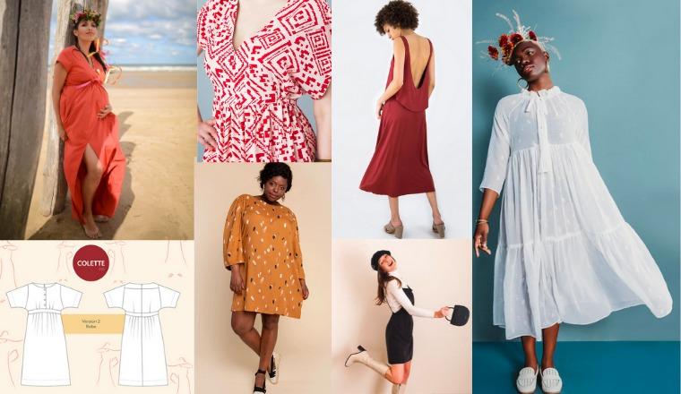 15 Patrons De Robe A Coudre Et Les Tissus Conseilles Couture Debutant