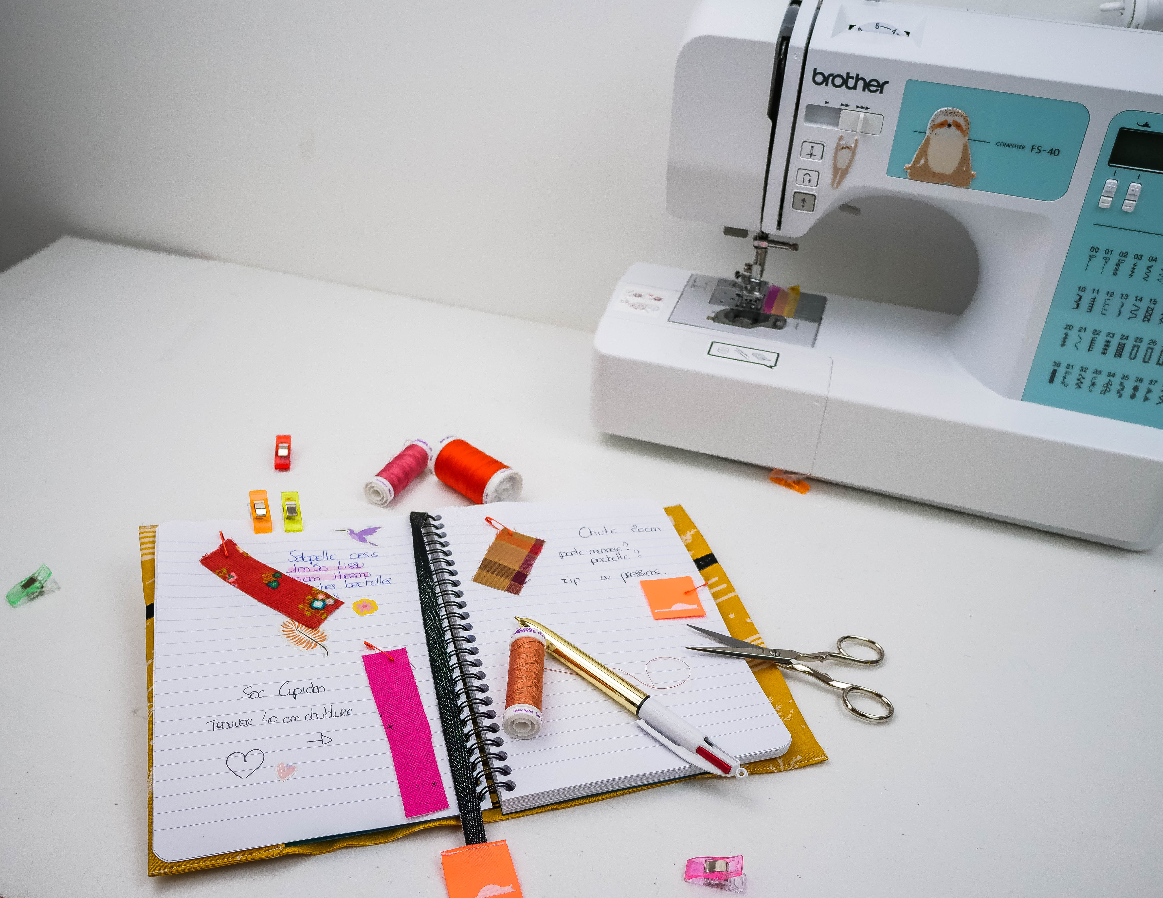 tuto carnet couture